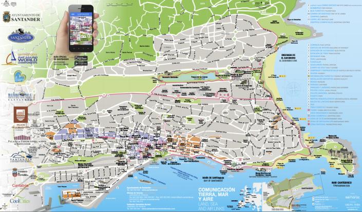 Semarac creaciones semarac s l for Mapa santander sucursales